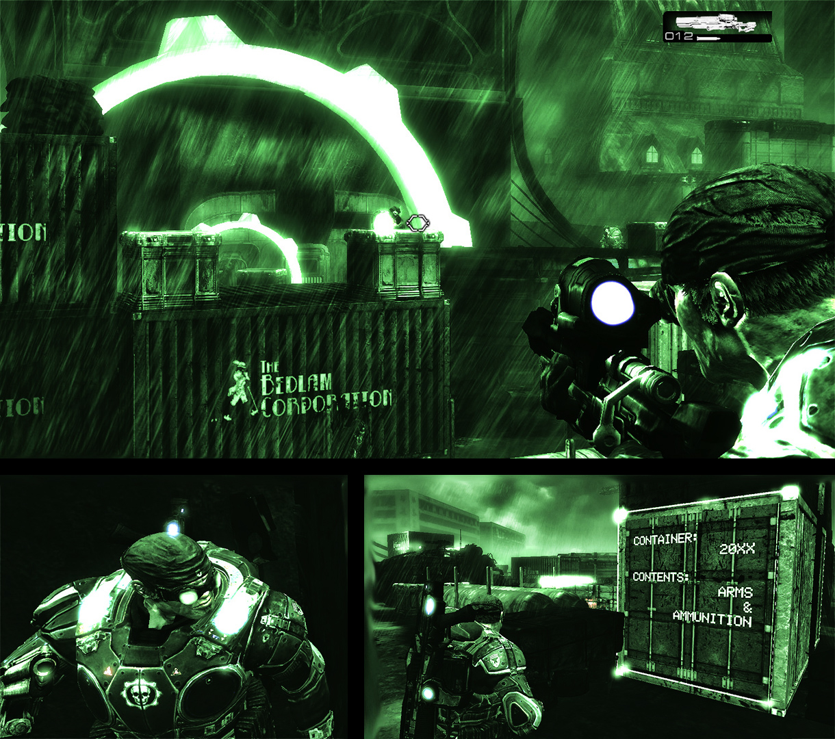 The Night Vision mechanic for Albatross proved to be easy to implement, but difficult to refine.