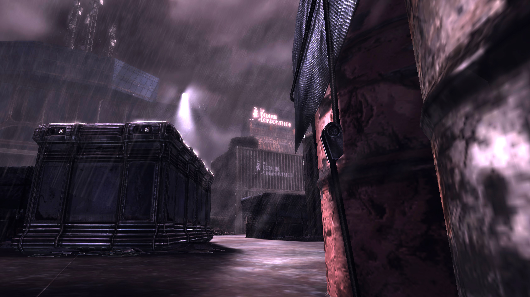 With the playspace defined by the hull of  Albatross  , it became easier to orient cover, spawns, and item locations.