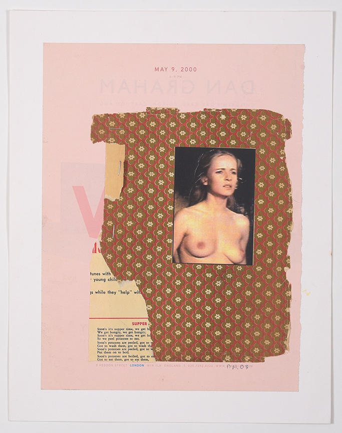 Duncan Hannah, May 9, 2000, 2003, 11 x 14 collage on paper