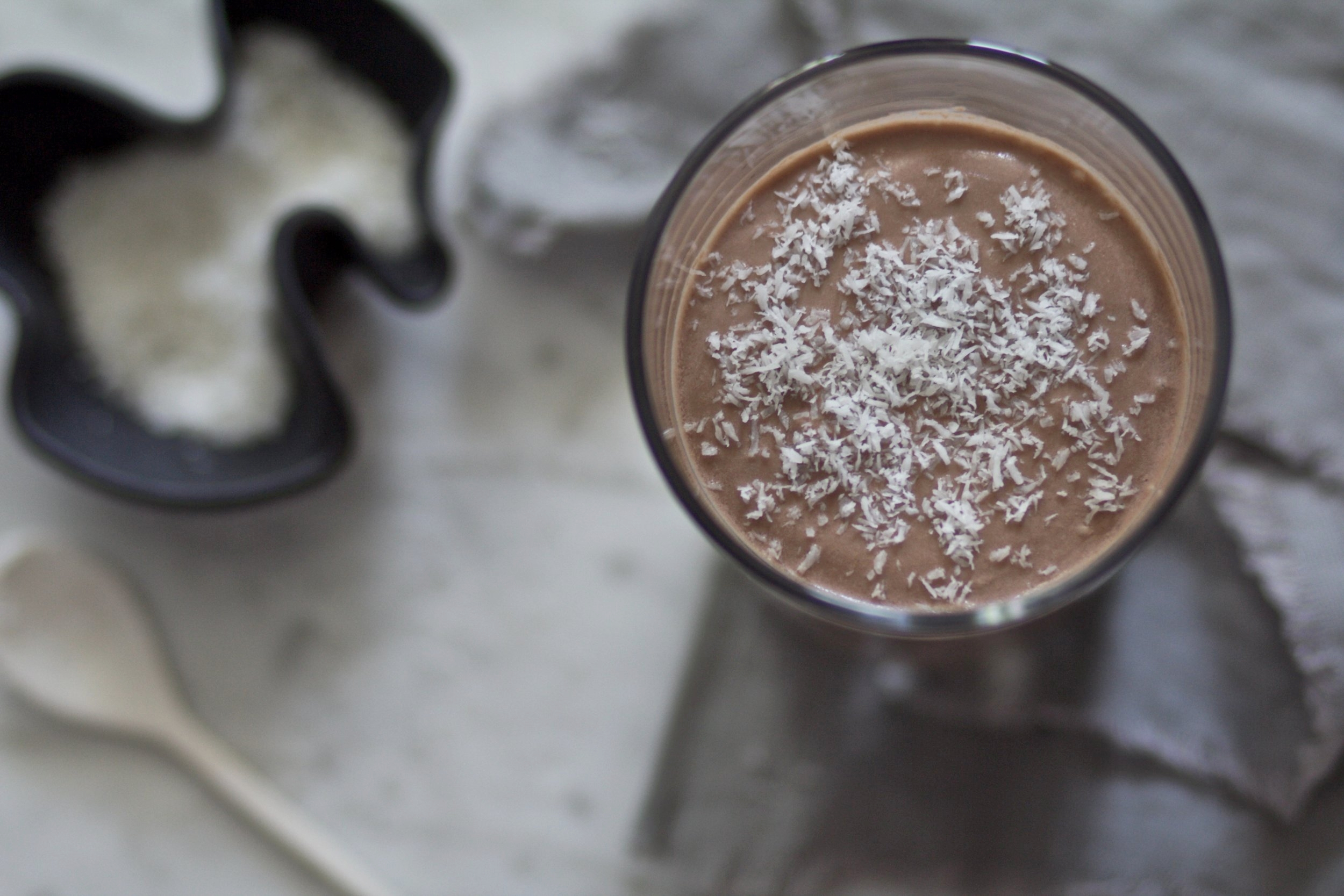 brain boosting chocolate smoothie