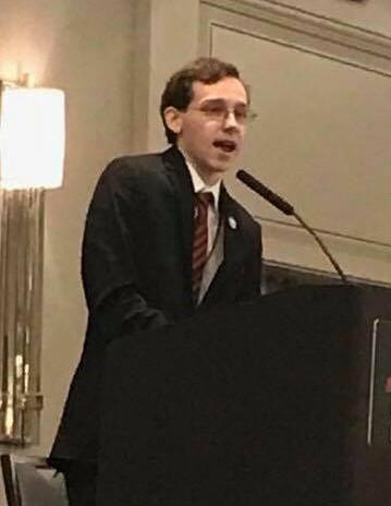 Blake Ross - President of Young Democrats of Arkansas