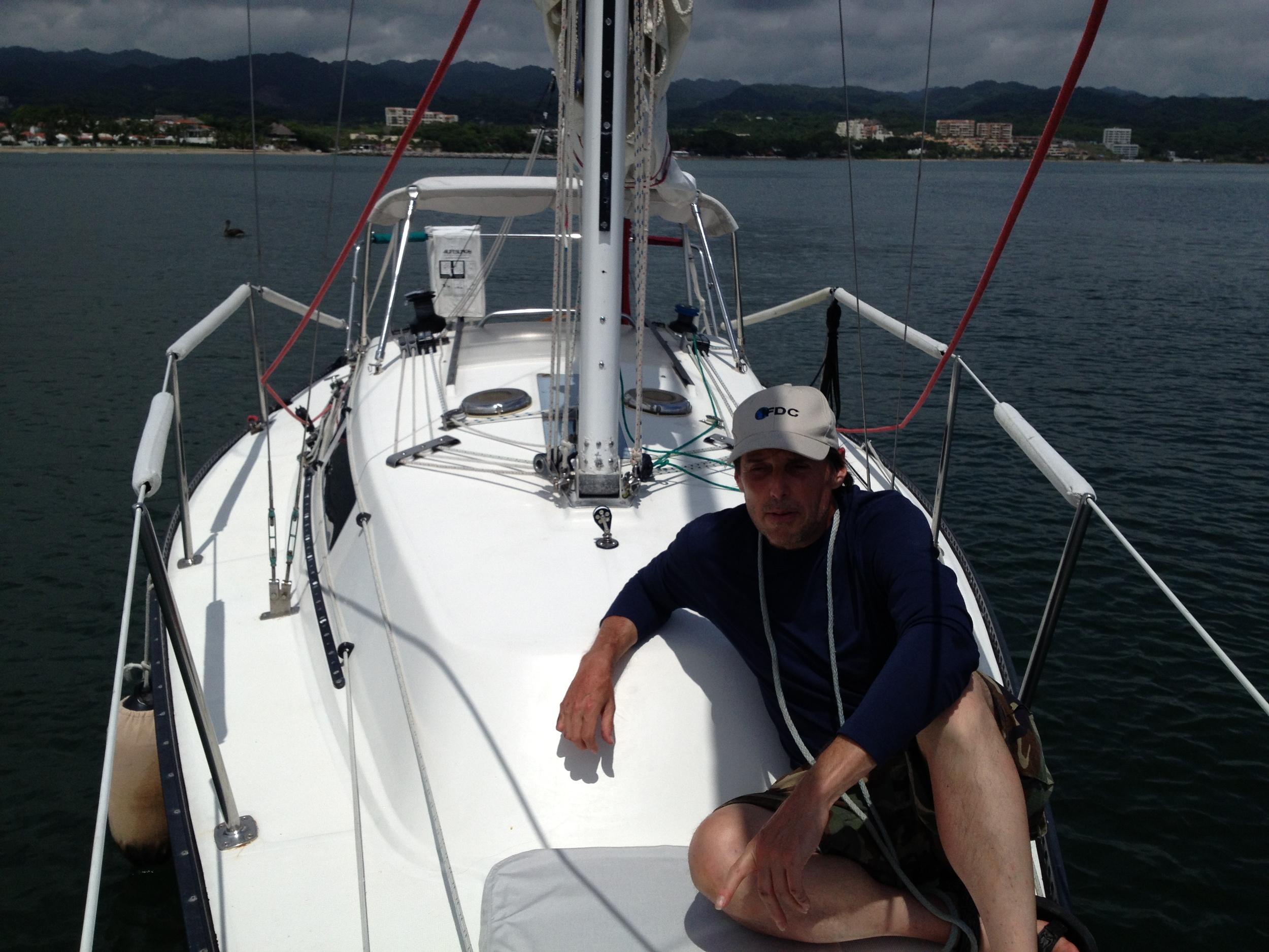 Anchoring Class Banderas Bay, Puerto Vallarta Mexico
