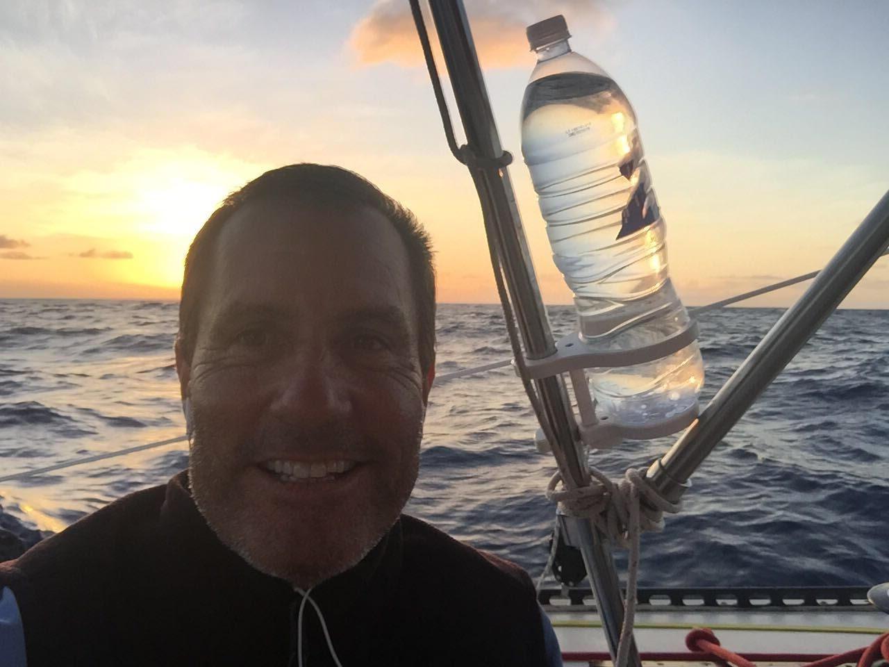 Sunset selfie @ Sea!