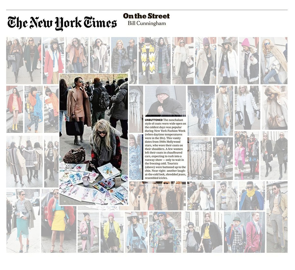 New York Times Streetstyle