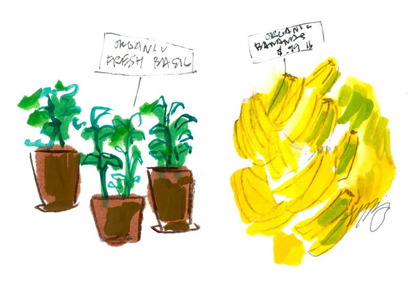 Basil and Bananas