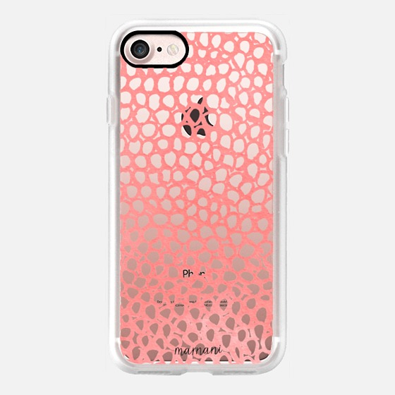 Phone Case : ALL SIZES   TRANSPARENT CASE : LOVELY LACE