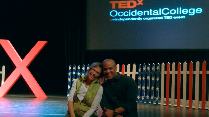 After an intensive 5-day sprint, Gamal Palmer and I relaxed. The dress rehearsal was terrific and we both knew he was ready to go.