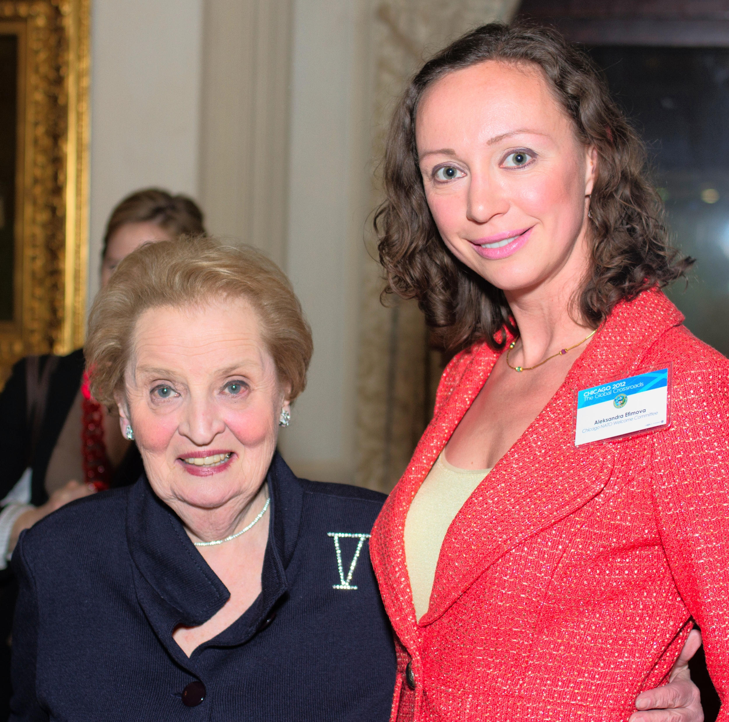 Madeleine Albright | First Female Secretary of State, 1997-2001, Chicago, IL