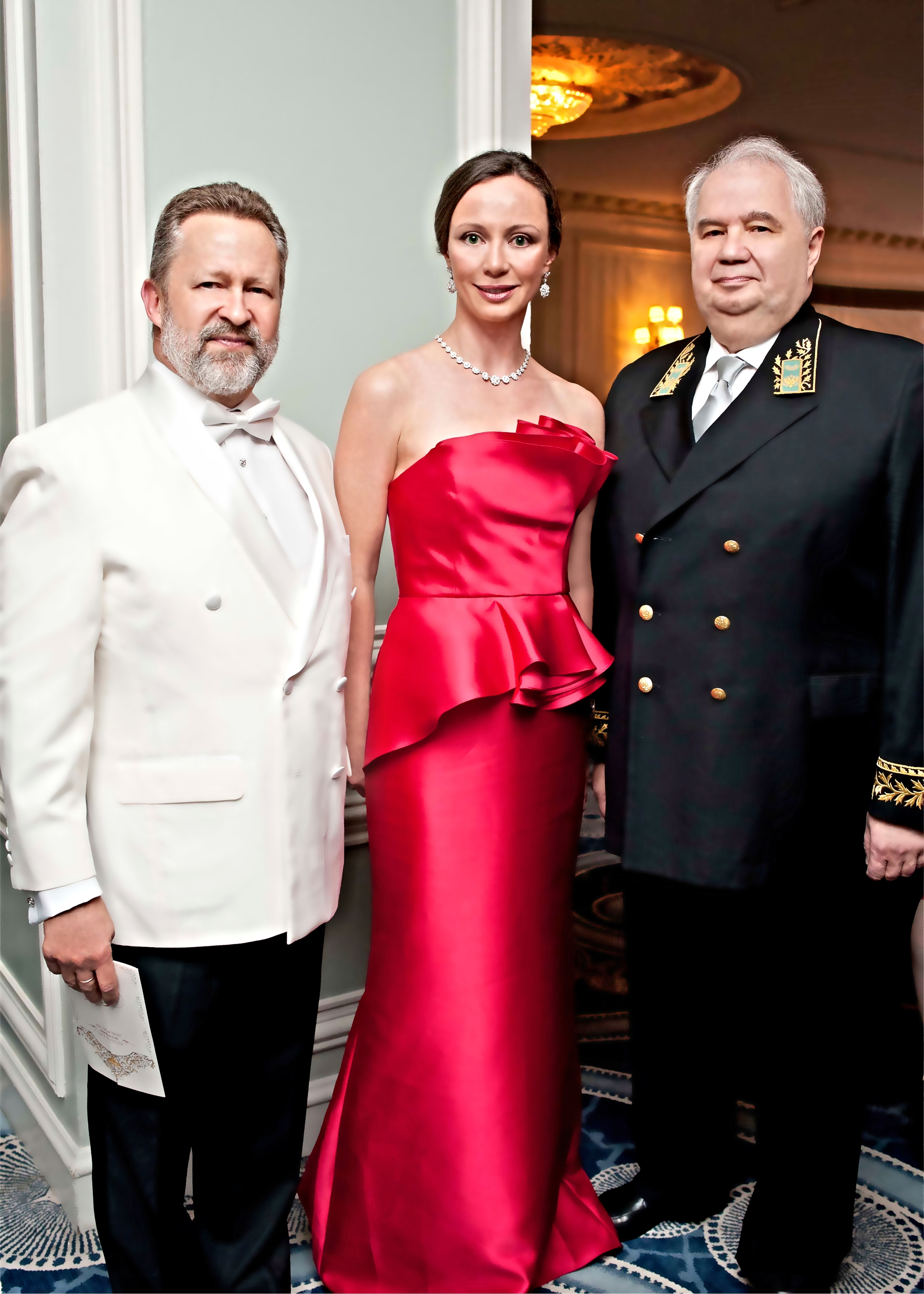 Prince Piotr Galitzine and Ambassador of the Russian Federation to the United States Sergey I. Kislyak, Russia Day Gala, June 2013