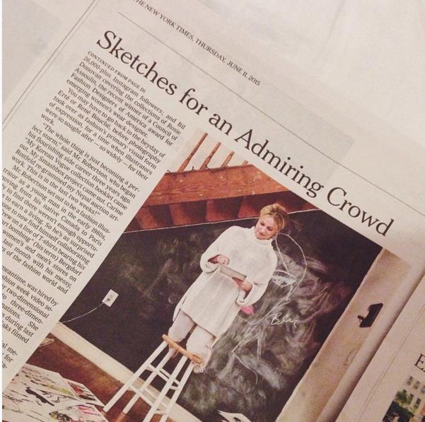 New York Times, June 2015