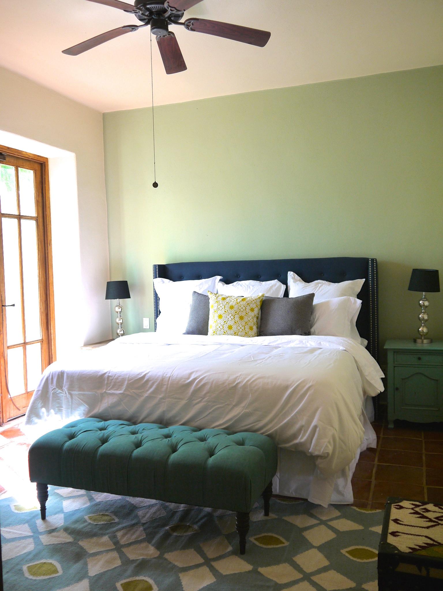 Ground floor master suite with private garden courtyard