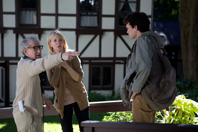 From the Set - 'Blue Jasmine' - via WoodyAllen.com