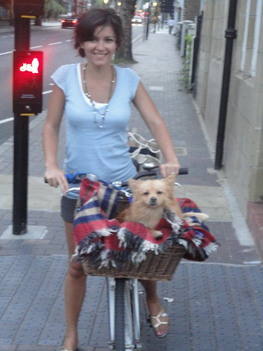 Picco loved London life too - miss it!