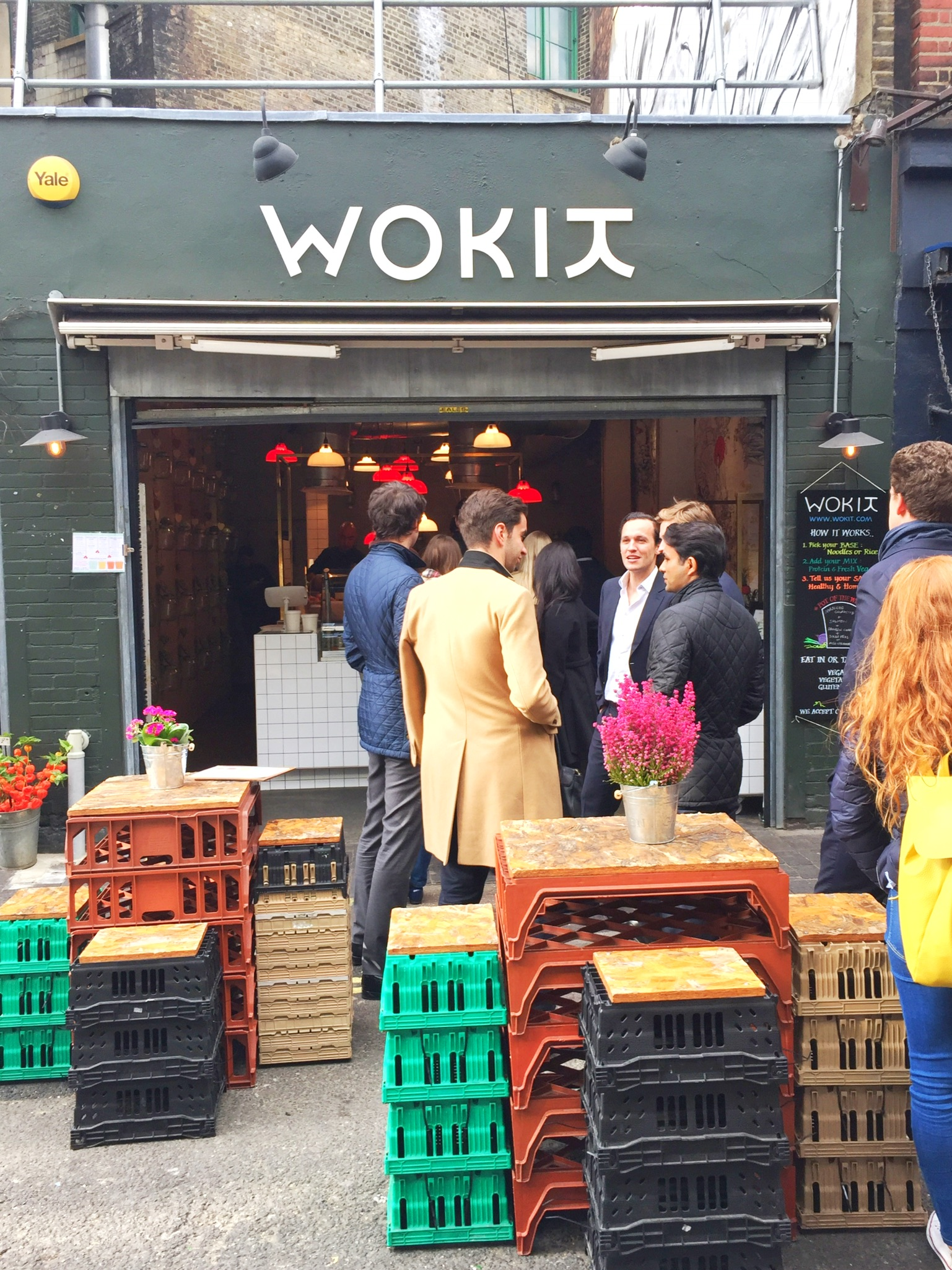 October Discoveries Urban kristy London Wokit