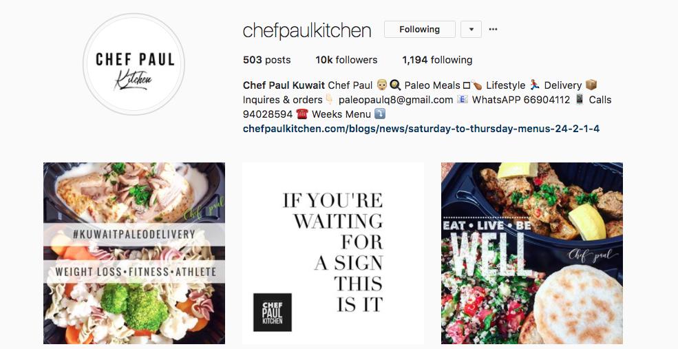 https://www.instagram.com/chefpaulkitchen/