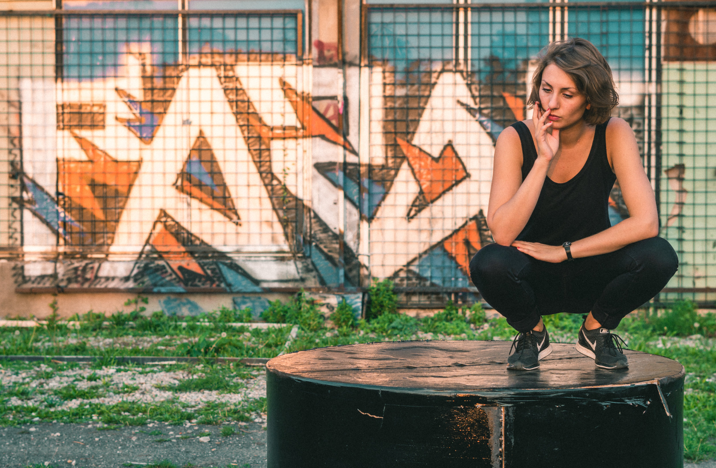 DJ Barbora - Praha - Urban Kristy Photography