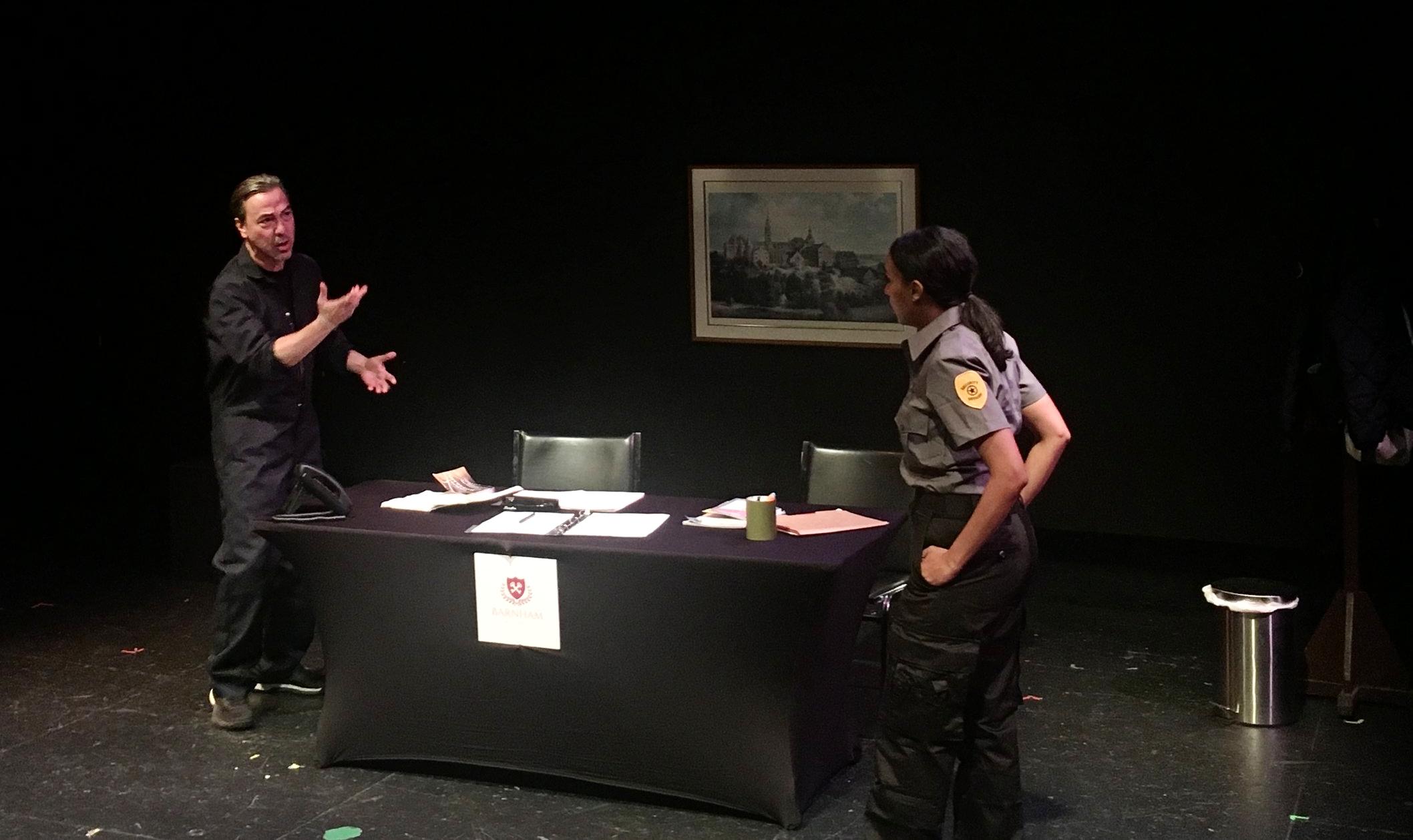 Security1  - Secret Theatre (New York City, 2018)