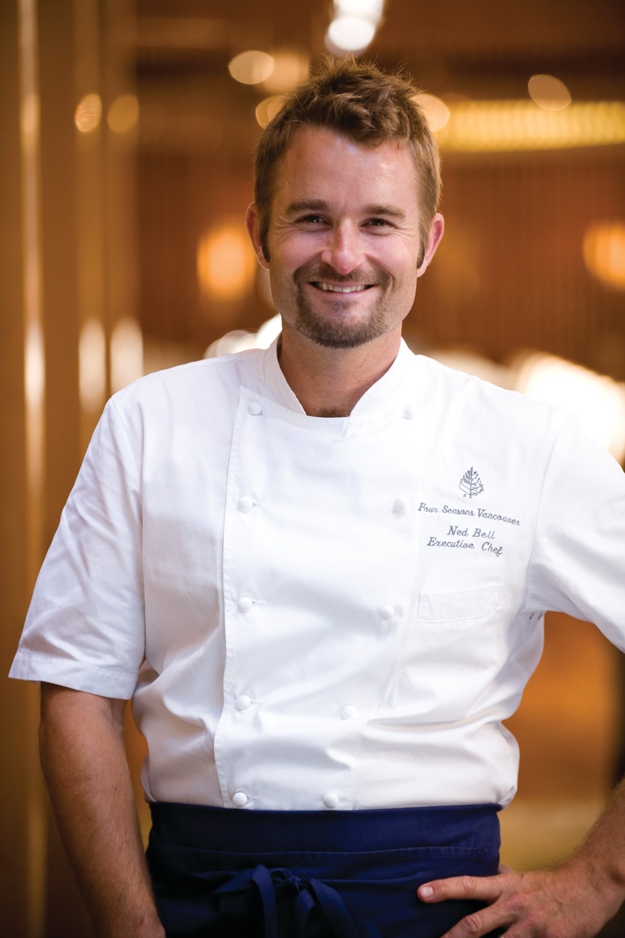 Chef Ned Bell, YEW restaurant + bar, Vancouver