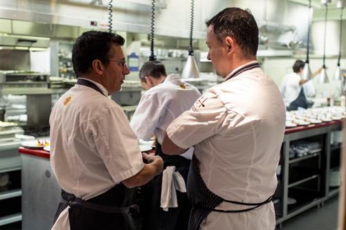 Chefs Normand Laprise & David Hawksworth, Toqué!, Montreal