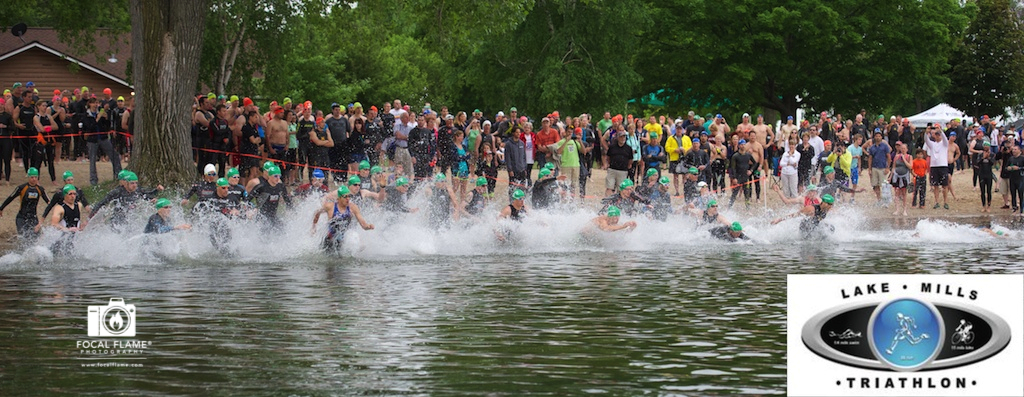 Free FocalShare digital photos available to 2014 Lake Mills Triathlon athletes courtesy of Race Day Events LLC