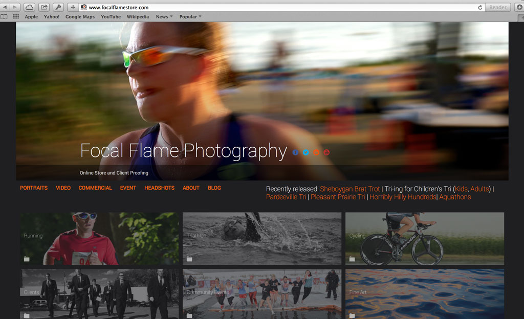 Ooh....shiny new Focal Flame Photography online store.