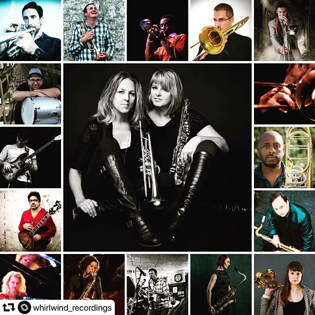 "Excited to tour the UK with this great band in November!⠀ ⠀ Reposting @whirlwind_recordings:⠀ ...⠀ ""We're happy to announce our November large-ensemble production features Ingrid and Christine Jensen with the Whirlwind Jazz Orchestra.  The tour takes in a range of dates across England with a stopover in Ireland.⠀ ⠀ November Dates⠀ 14: @thebonington – Nottingham⠀ 15: @turner_sims – Southampton⠀ 16: @thecbso Centre – Birmingham⠀ 18/19: @cranelanetheatre – Cork, Ireland⠀ 21: Seven Arts – Leeds⠀ 22: Sheffield Jazz – Sheffield⠀ 23: Purcell Room @southbankcentre EFG London Jazz Festival – London @londonjazzfest ⠀ Christine and Ingrid Jensen showcase an exciting programme of original compositions featuring the Whirlwind Jazz Orchestra. Ingrid specialising on trumpet and Christine on alto and soprano saxophones, the West Canadian sisters have each shaped fruitful musical careers in modern jazz over the past twenty years, collaborating with influential names such as trumpeter Clark Terry, composer Maria Schneider, drummer Terri Lyne Carrington among many others. Their unique sound defies convention with eclectic blend of influences, ranging from traditional jazz and classical music to American folk and the avant-garde.⠀ ⠀ The tour features original and arranged compositions from both Christine and Ingrid (with focus on their Whirlwind Recordings release Infinitude), performed by the 18-piece Whirlwind Big Band, which consists of a galaxy of musicians, all being leading solo acts from UK, Europe and USA and all either solo artists or strong associations with the Whirlwind Recordings label.⠀ ⠀ Trumpets⠀ @ingridjensenmusic – USA⠀ @nicksmartmusic – UK⠀ @pogo56 – USA⠀ @andrecanniere – US/UK⠀ ⠀ Trombones⠀ @nickvayenas – USA⠀ @rorytrombone – UK⠀ @pauldunleamusic – Ireland⠀ Richard Henry (bass trombone) – UK⠀ ⠀ Saxophones⠀ Tori Freestone – tenor sax – UK⠀ @josephinejazz – tenor sax – UK⠀ @pcorneliusmusic – alto sax – USA⠀ @rhcohen – alto sax – UK⠀ @littlechrissyj – alto sax – Canada⠀ Alex Garnett – baritone sax – UK⠀ ⠀ Rhythm Section⠀ Alcyona Mick – piano/keys – UK⠀ @reztone – guitars – USA⠀ @michael__janisch – double & electric bass US/UK⠀ Klemens Marktl – drums – Austria"""