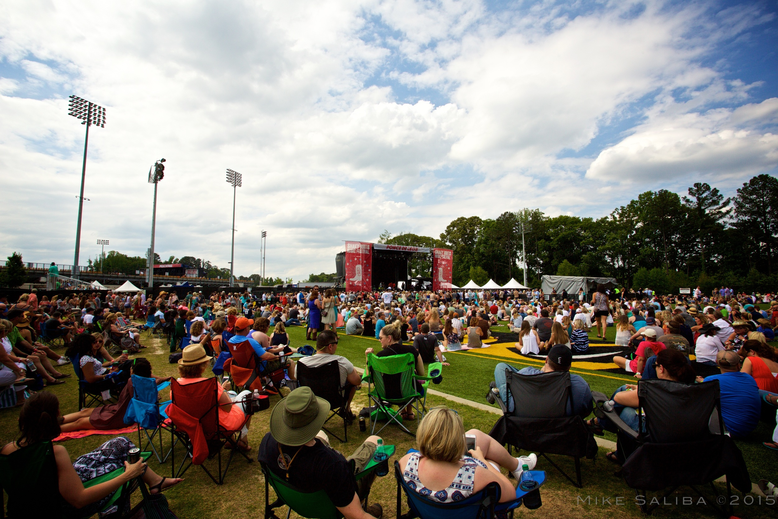 Ponce De Leon Stage - Shaky Boots 2015