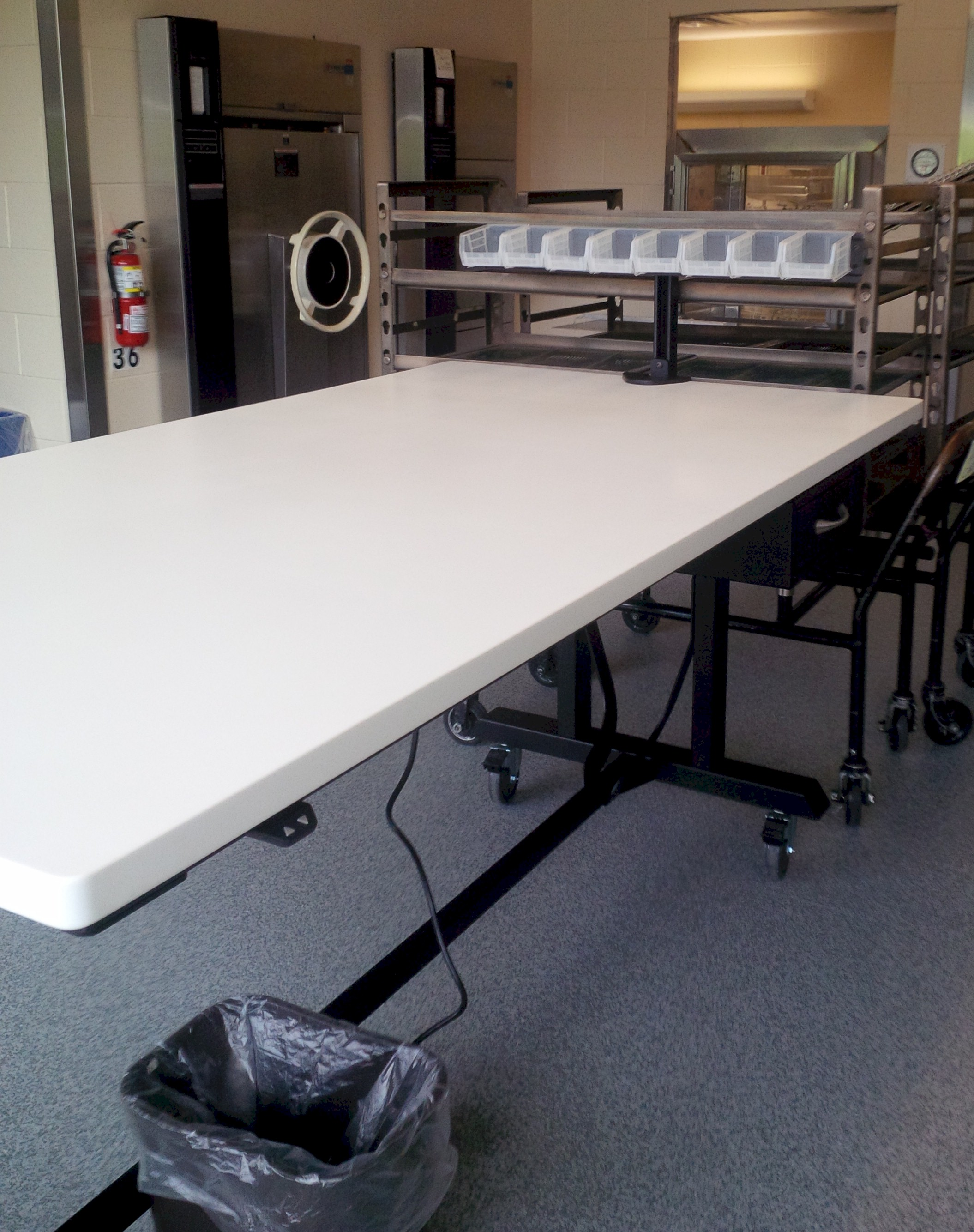 wrapping table