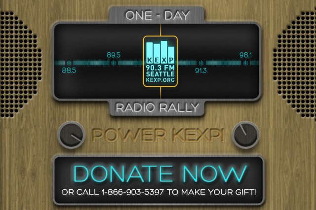 Digital marketing and advertising for KEXP's fundraising event. KEXP is one of the longest lasting independent radios in Seattle.