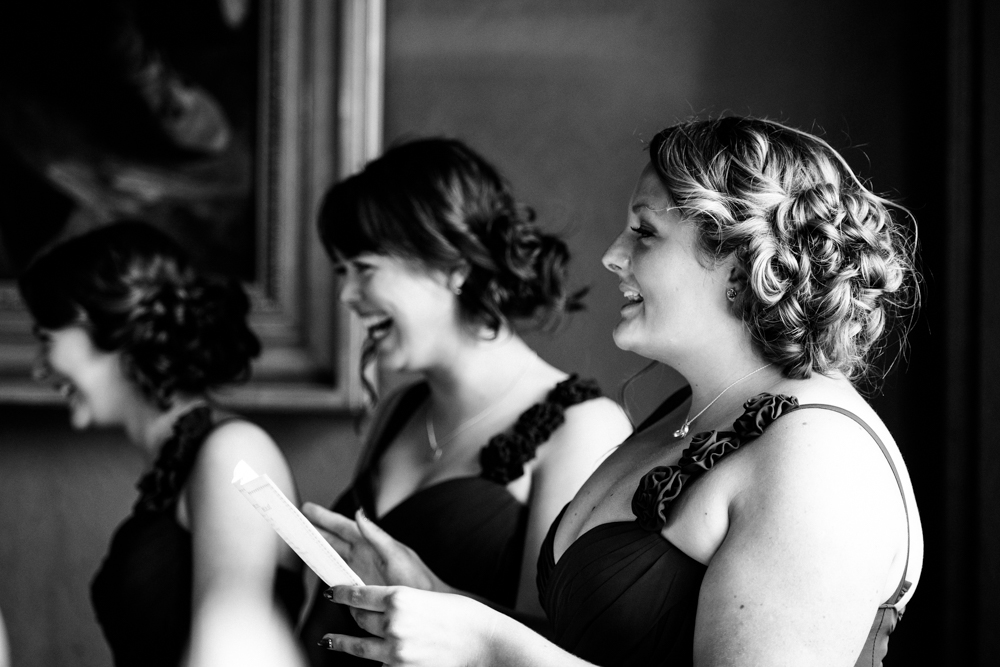 Bridesmaids at The Heath House Staffordshire Wedding Photographer