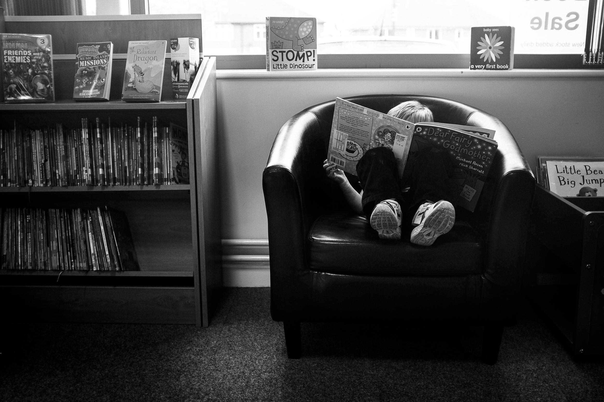 Stomp  - Blythe Bridge Library, Staffordshire - April 2014