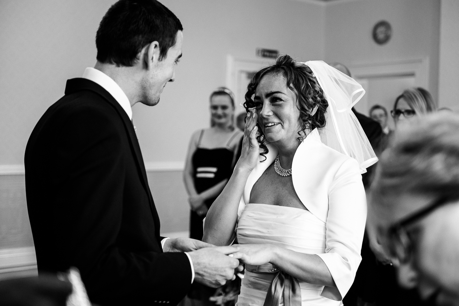 Autumn Wedding Photography in Stoke-on-Trent, Staffordshire with Hummer Limousine - Jenny Harper-51.jpg