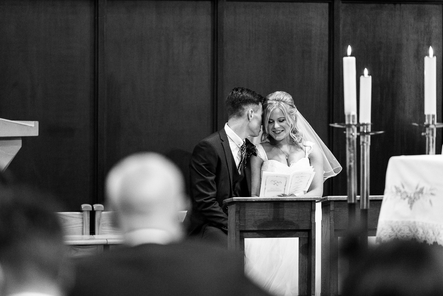 Autumn Documentary Wedding Photography at Catholic Church and Newcastle-under-Lyme Golf Club - Jenny Harper-66.jpg