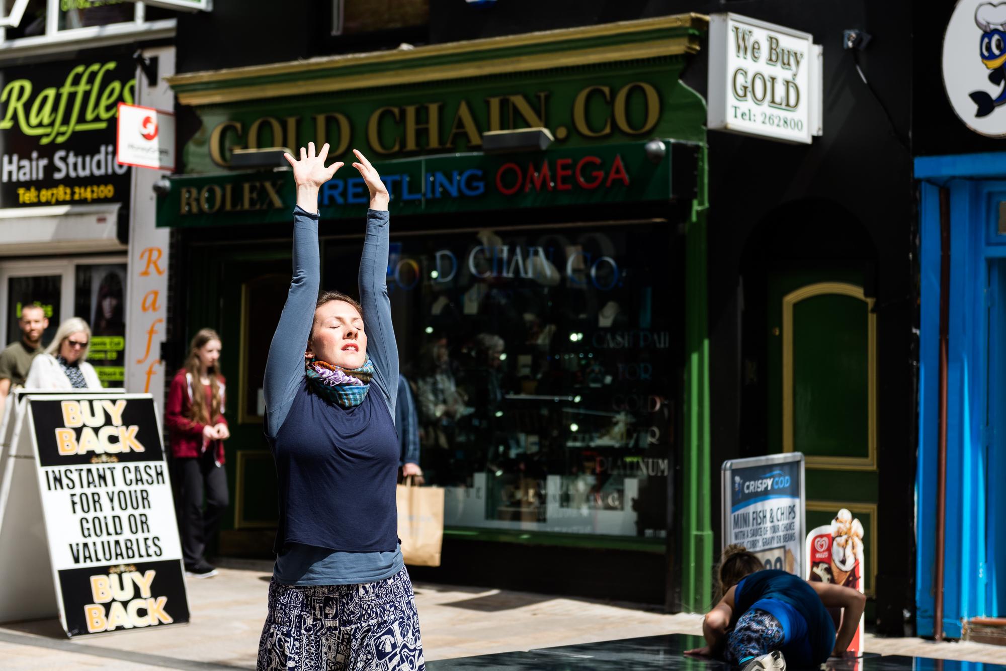 Documentary Photographs Dance Photography - Restoke - Big Dance - Dancing in the Street -  Picadilly, Hanley - Jenny Harper-4.jpg