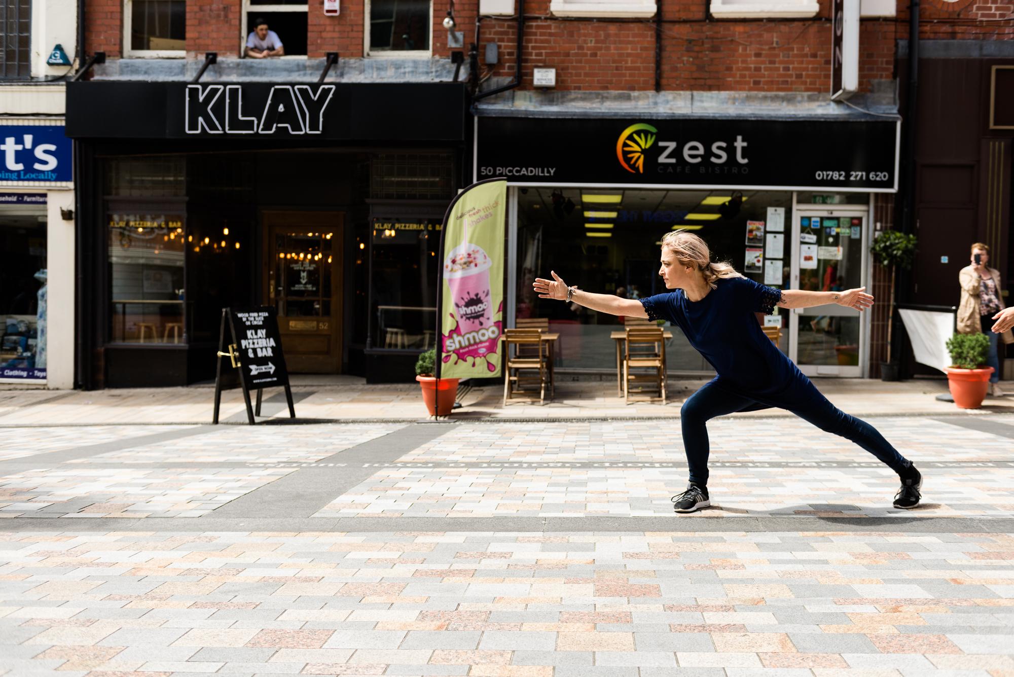Documentary Photographs Dance Photography - Restoke - Big Dance - Dancing in the Street -  Picadilly, Hanley - Jenny Harper-6.jpg