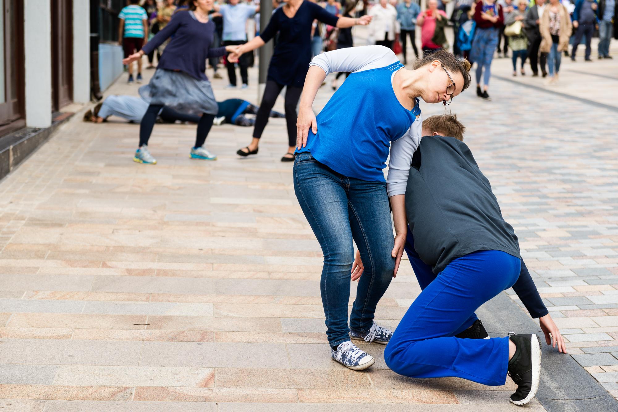 Documentary Photographs Dance Photography - Restoke - Big Dance - Dancing in the Street -  Picadilly, Hanley - Jenny Harper-8.jpg