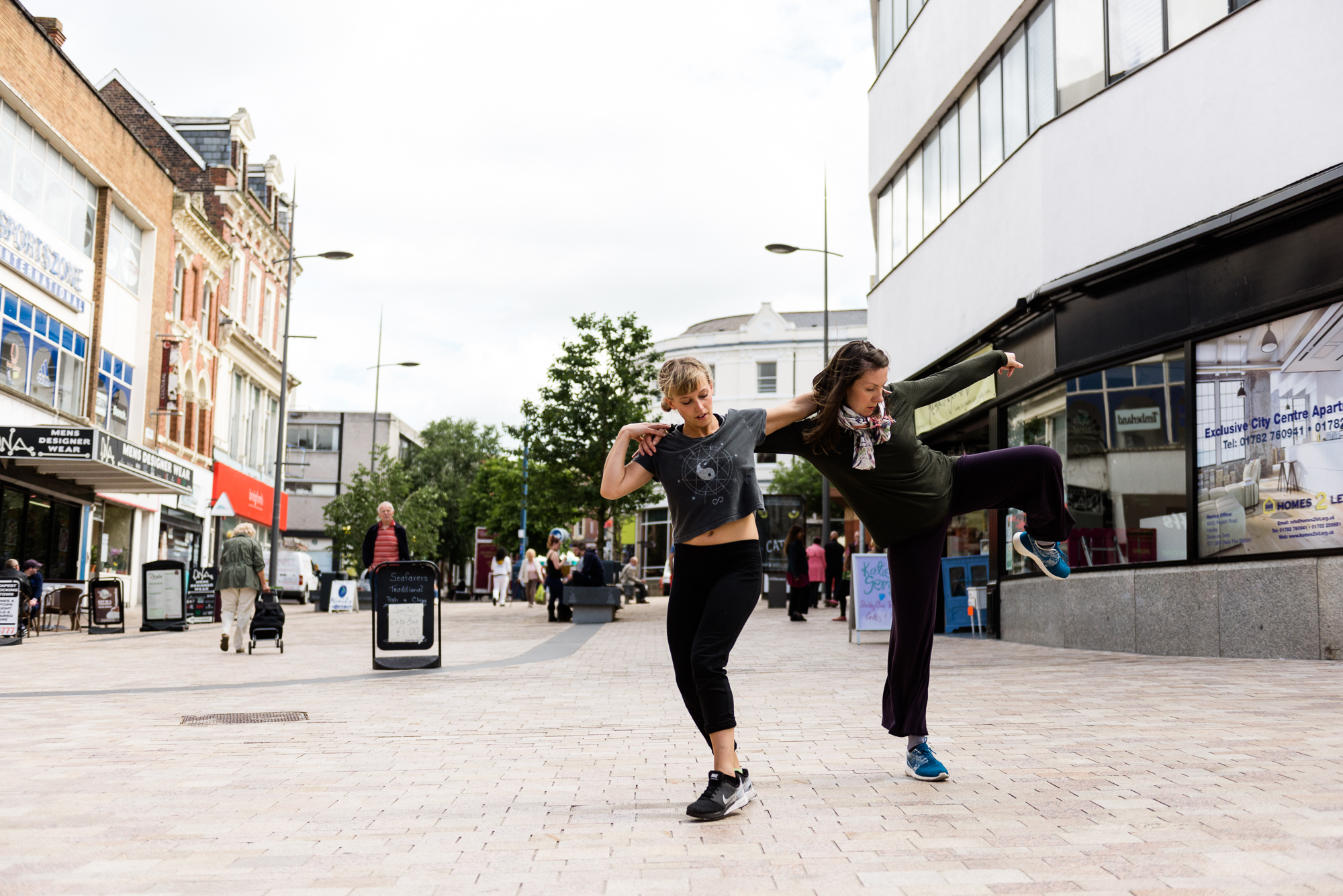 Restoke - Big Dance Rehearsal - Dance Fridays - Dancing in the Street - The Regent Theatre,  Picadilly, Hanley - Documentary Photography by Jenny Harper-6.jpg