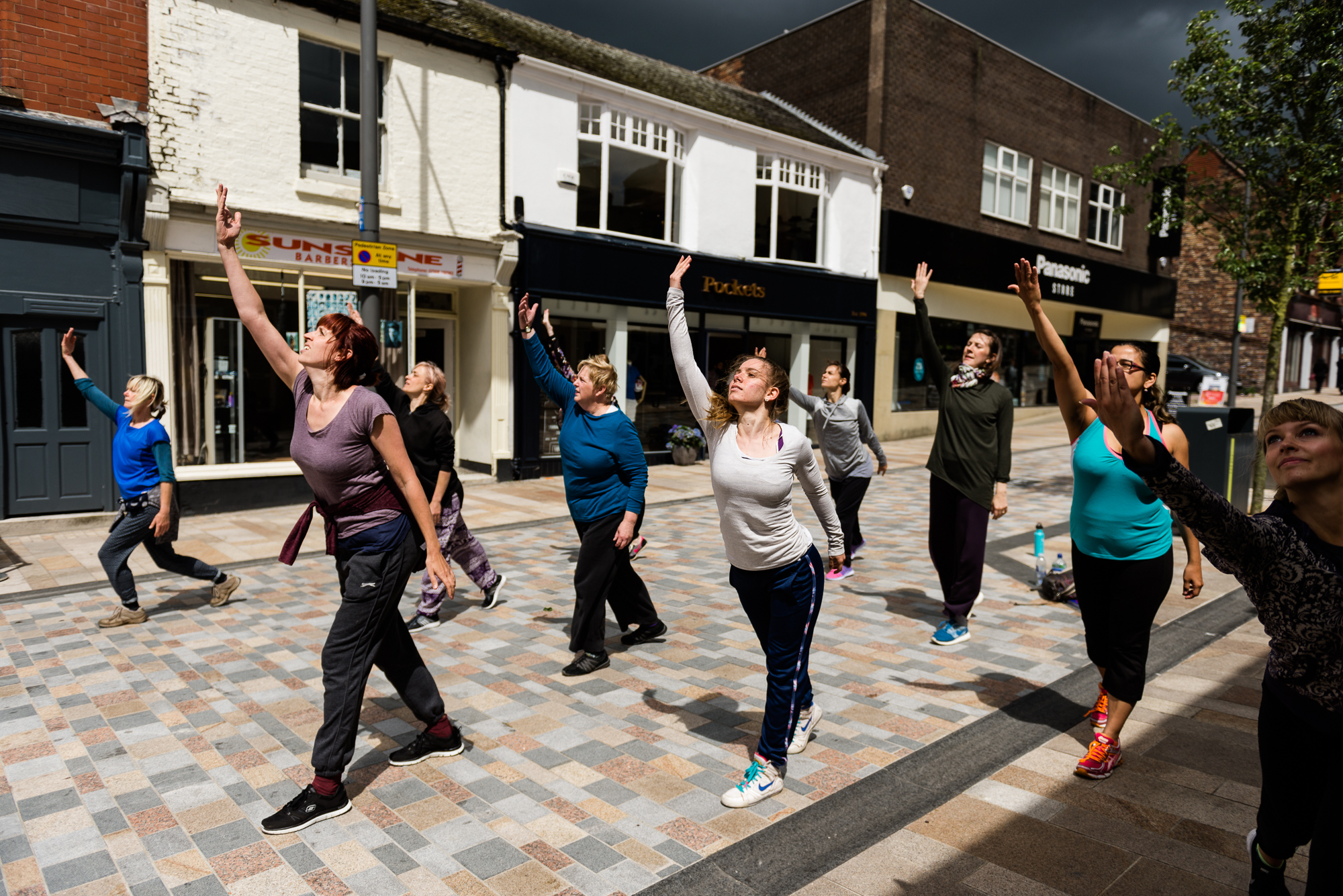 Restoke - Big Dance Rehearsal - Dance Fridays - Dancing in the Street - The Regent Theatre,  Picadilly, Hanley - Documentary Photography by Jenny Harper-13.jpg