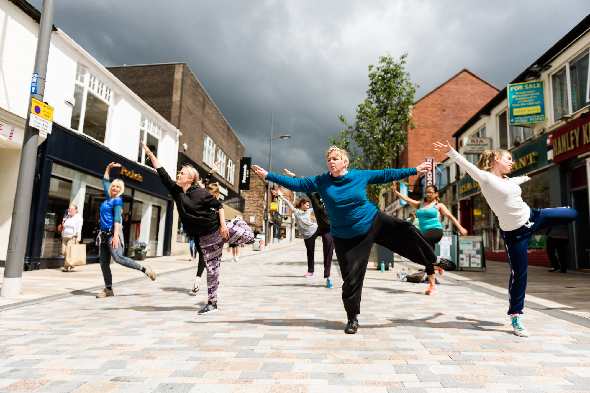 Restoke - Big Dance Rehearsal - Dance Fridays - Dancing in the Street - The Regent Theatre,  Picadilly, Hanley - Documentary Photography by Jenny Harper-14.jpg