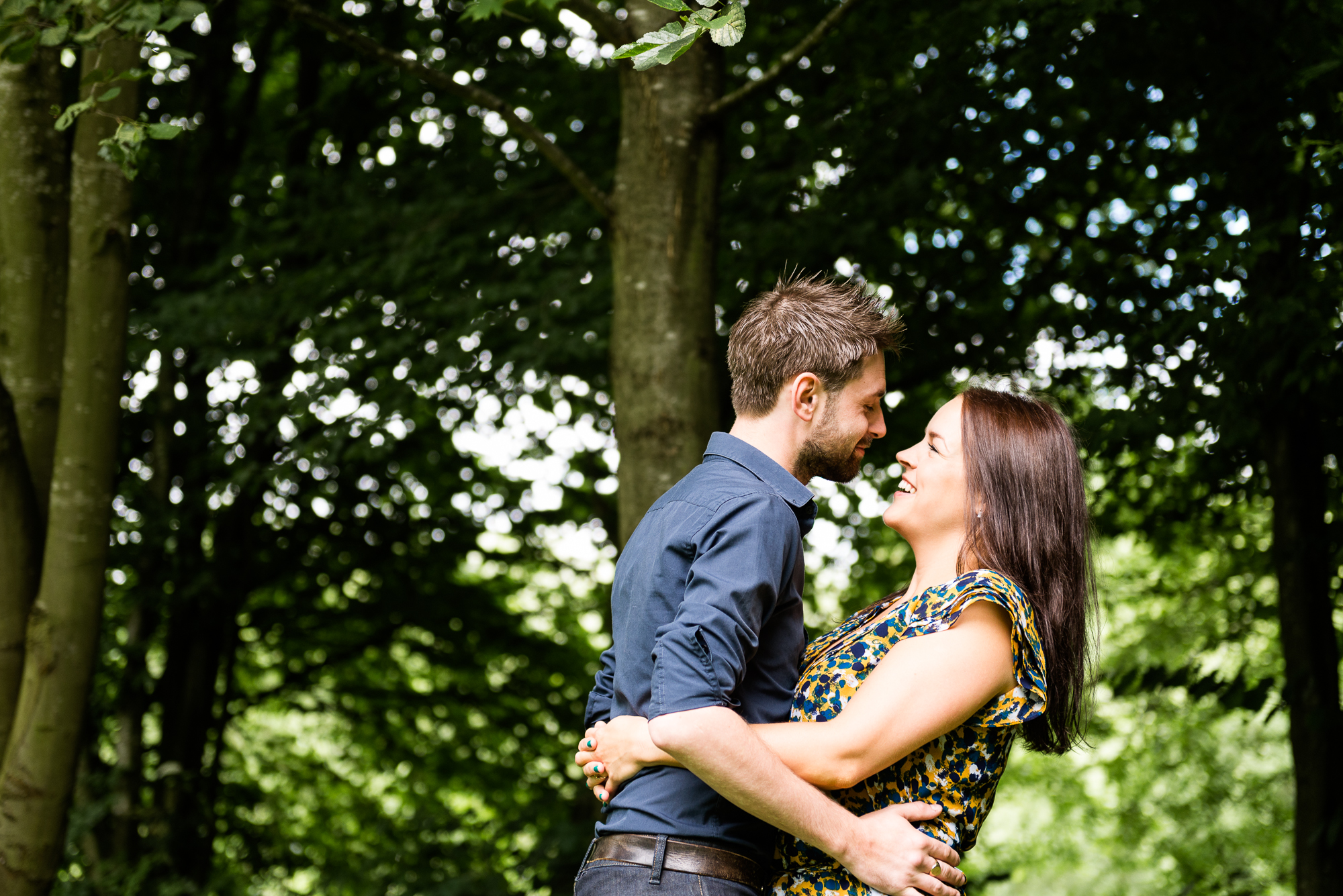 Pre-Wedding Session Engagement Photos Couple Shoot English countryside Canal - Jenny Harper Photography-4.jpg