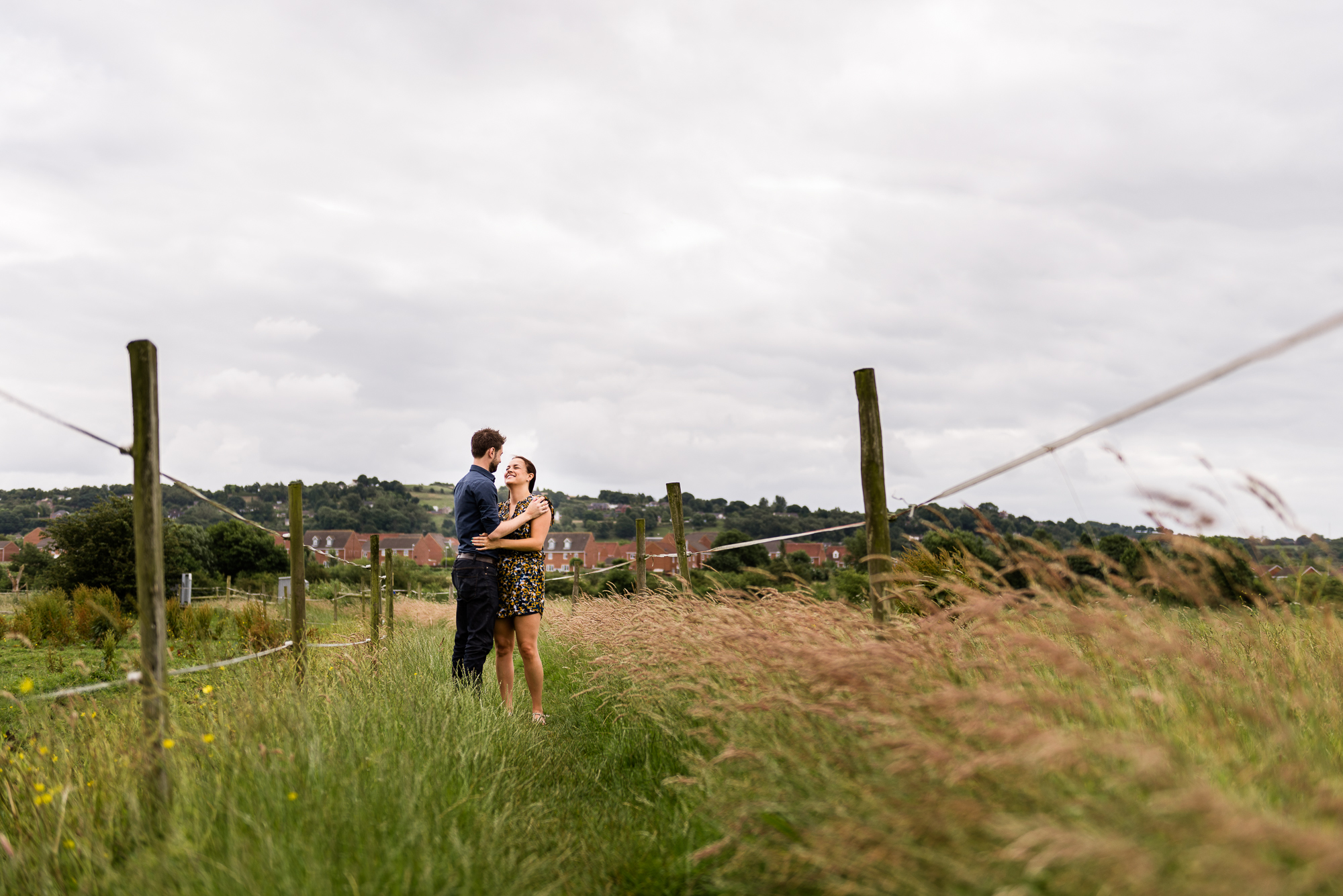 Pre-Wedding Session Engagement Photos Couple Shoot English countryside Canal - Jenny Harper Photography-7.jpg