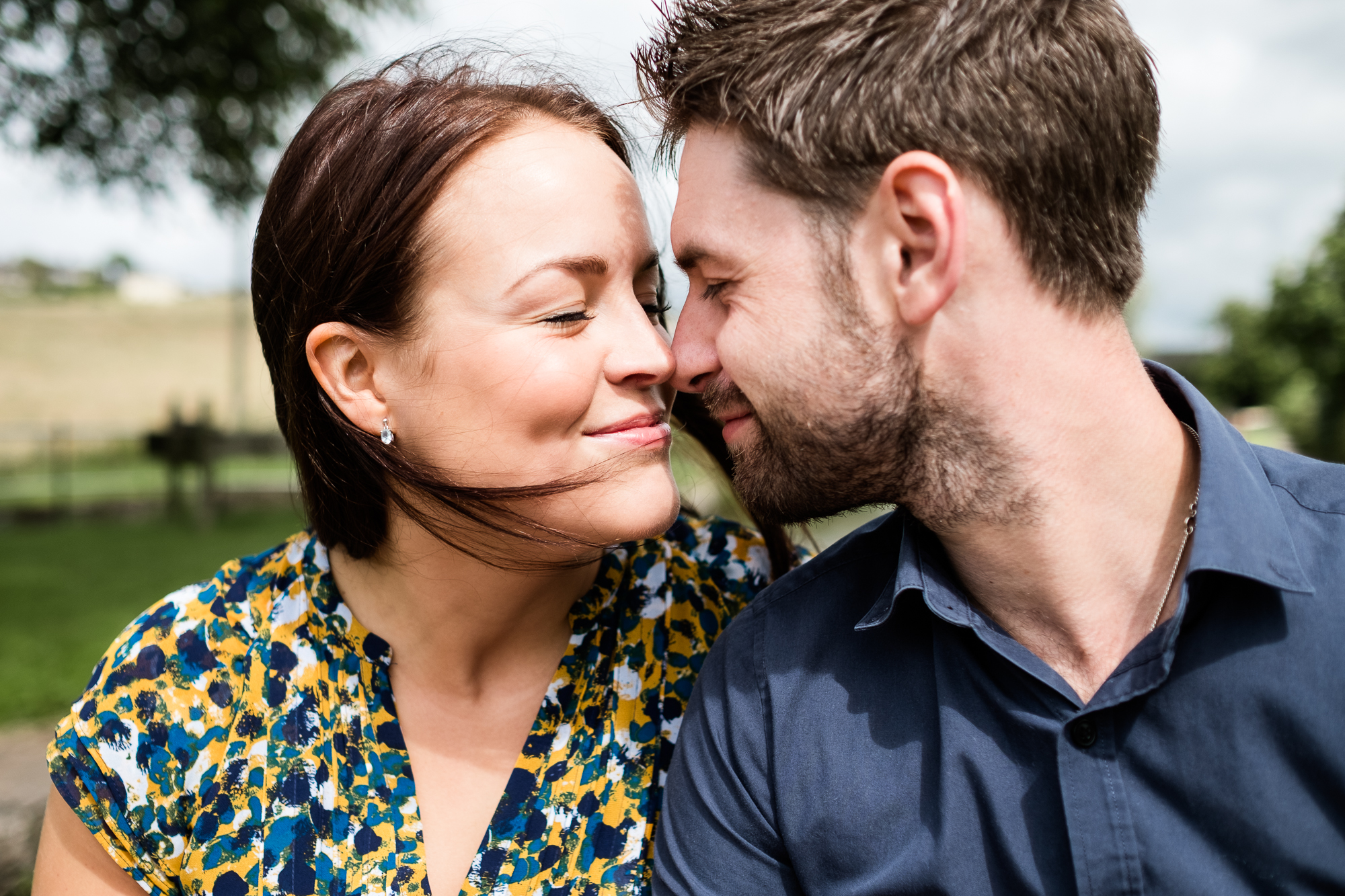 Pre-Wedding Session Engagement Photos Couple Shoot English countryside Canal - Jenny Harper Photography-9.jpg