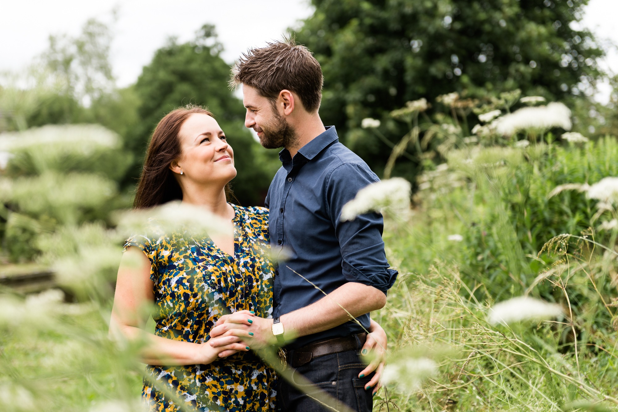 Pre-Wedding Session Engagement Photos Couple Shoot English countryside Canal - Jenny Harper Photography-12.jpg