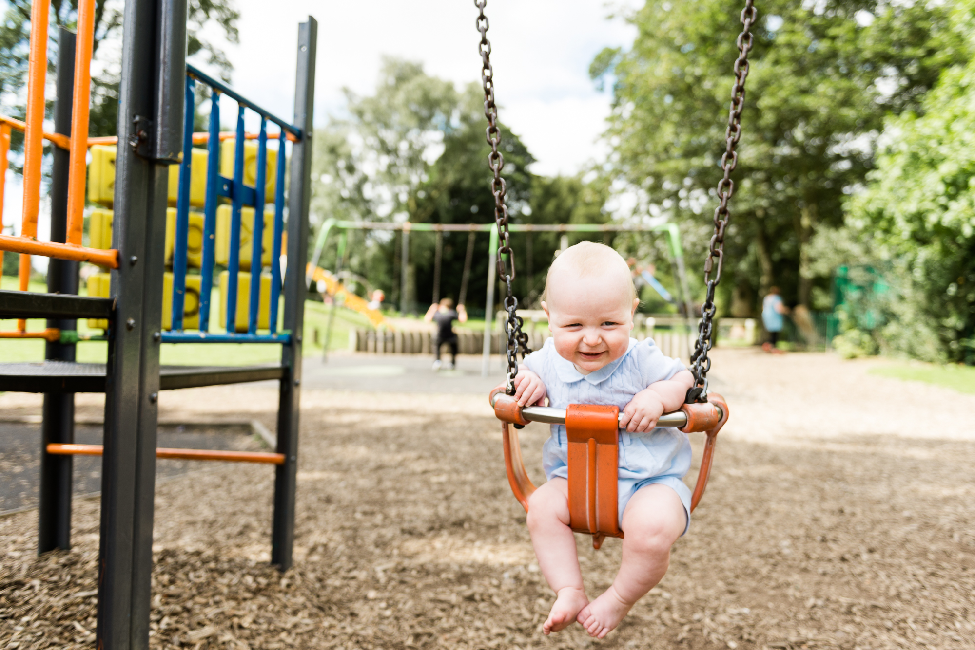 Cheshire Lifestyle Family Photography Baby Portrait Boys Park Swings Play - Jenny Harper Photographer-14.jpg