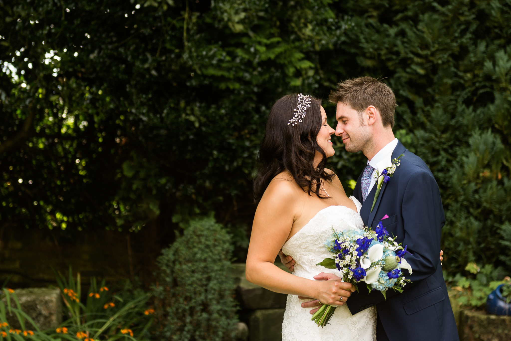 Relaxed Summer Wedding at The Manor, Cheadle Guitarist Musicians Vinyl-33.jpg