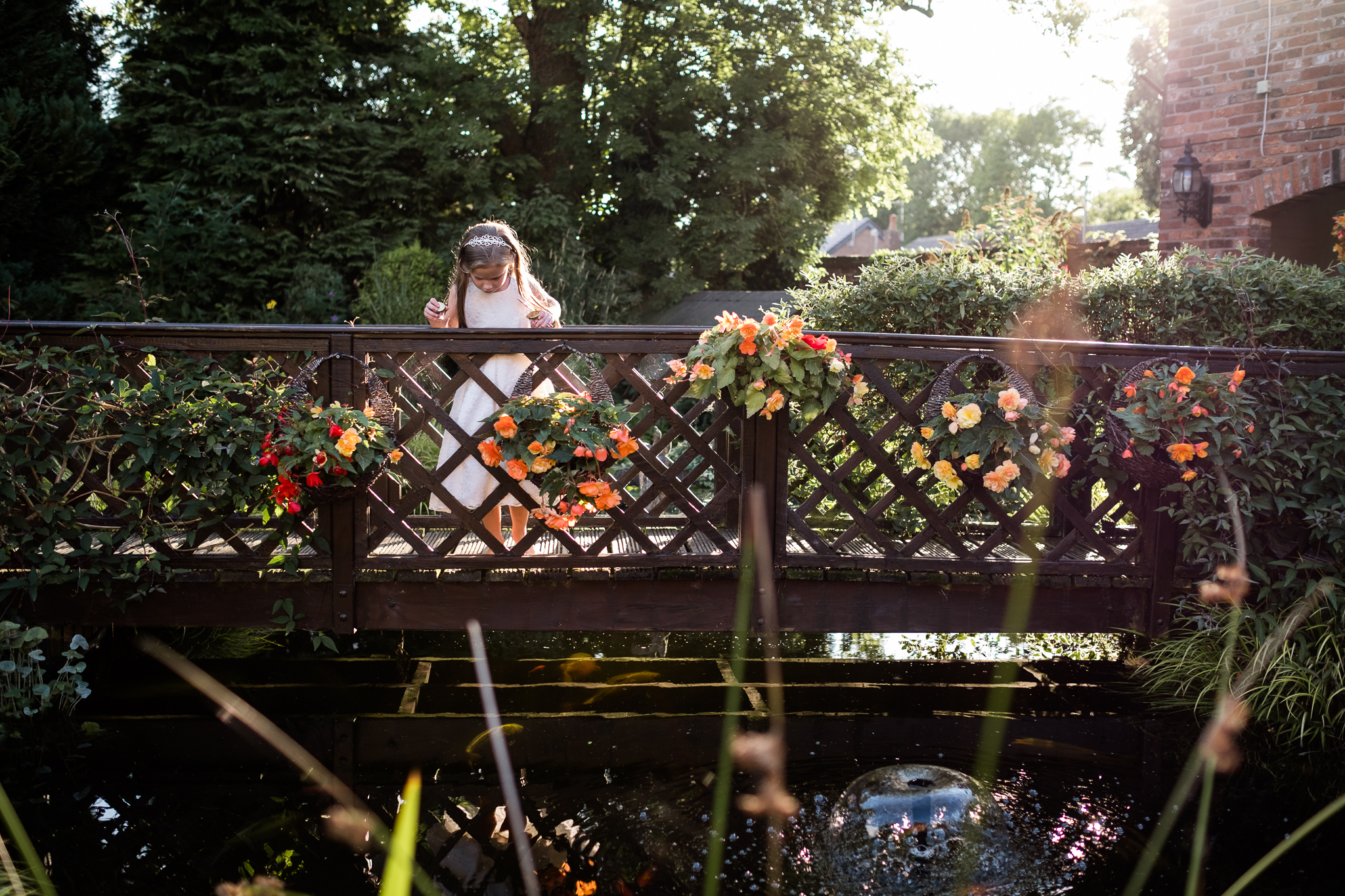 Relaxed Summer Wedding at The Manor, Cheadle Guitarist Musicians Vinyl-44.jpg
