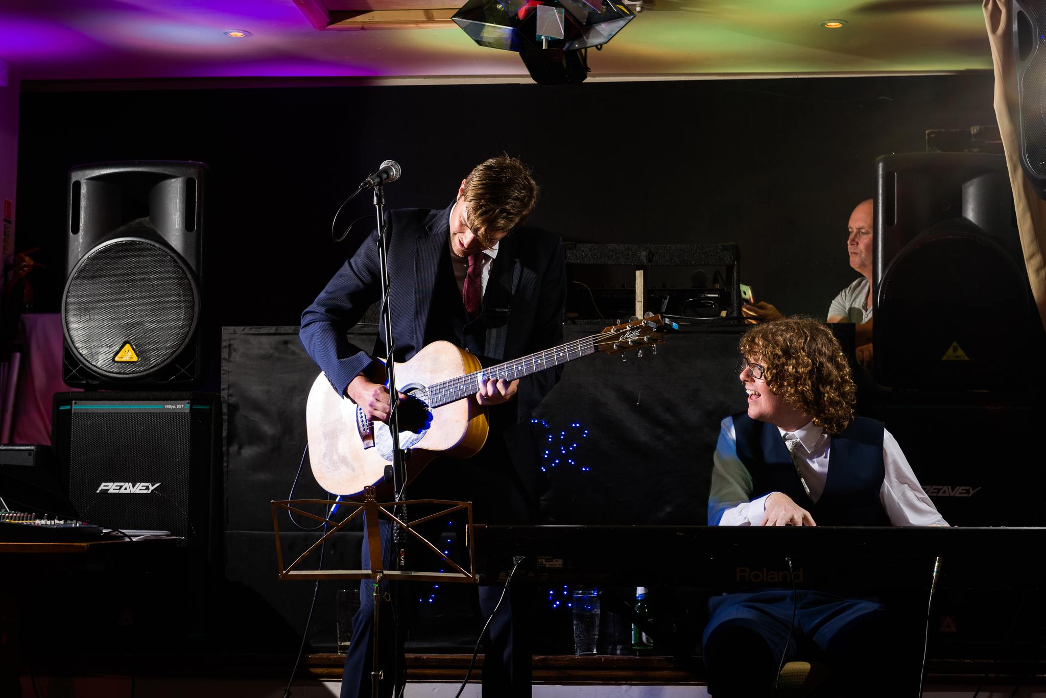 Relaxed Summer Wedding at The Manor, Cheadle Guitarist Musicians Vinyl-56.jpg