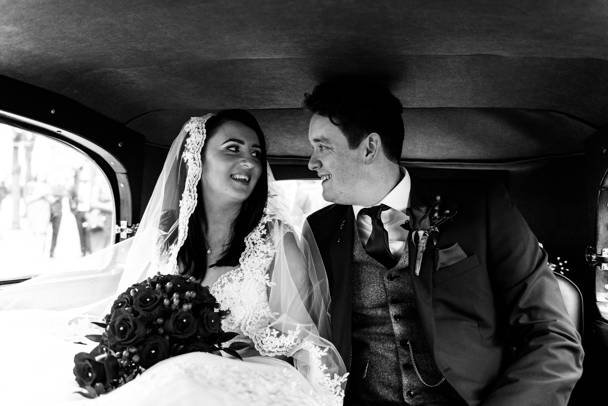 Winter Wedding Christmas Wedding Photography Stafford, Staffordshire Saint Chad Weston Hall Documentary Photographer - Jenny Harper-31.jpg