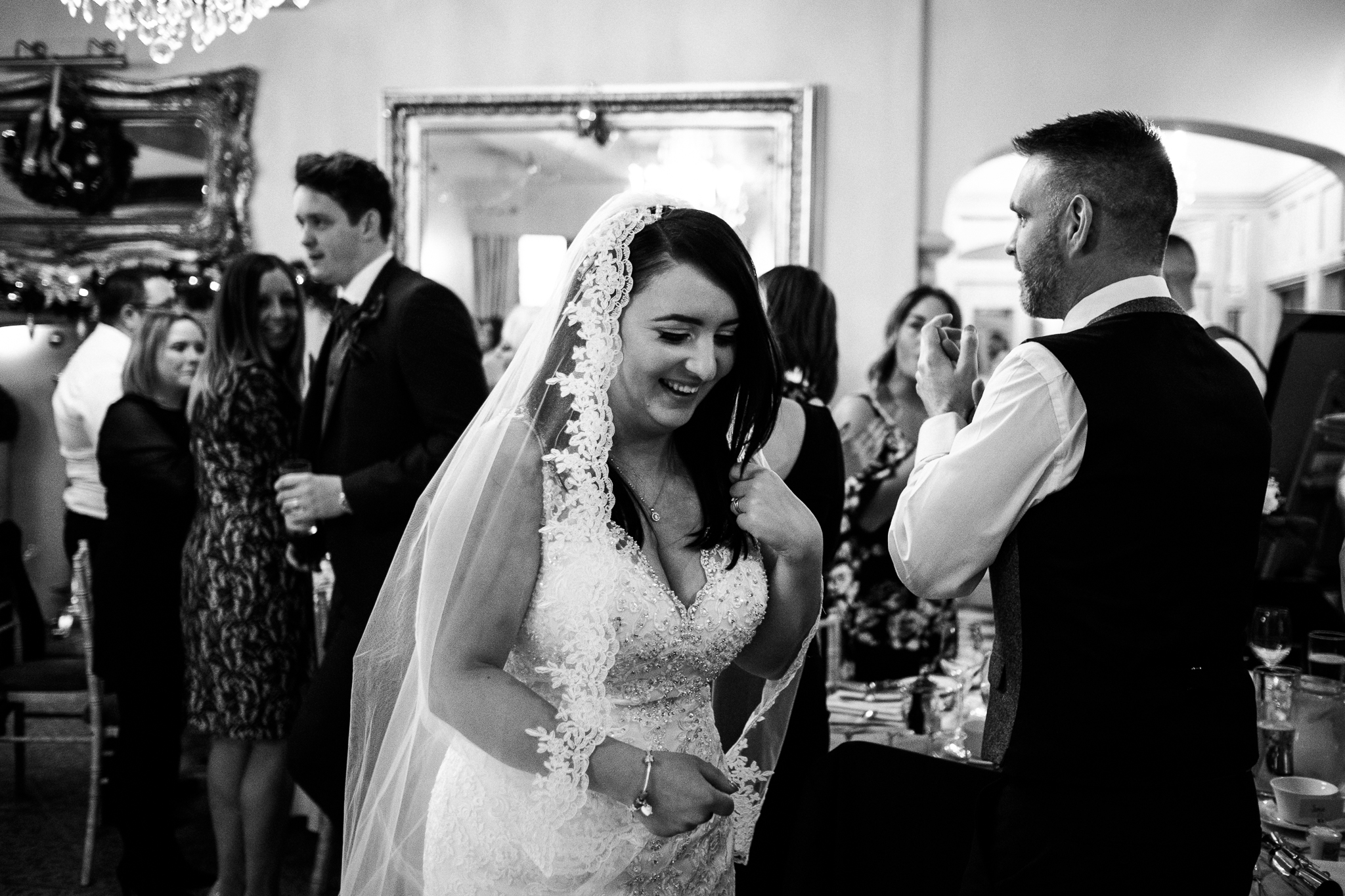 Winter Wedding Christmas Wedding Photography Stafford, Staffordshire Saint Chad Weston Hall Documentary Photographer - Jenny Harper-41.jpg