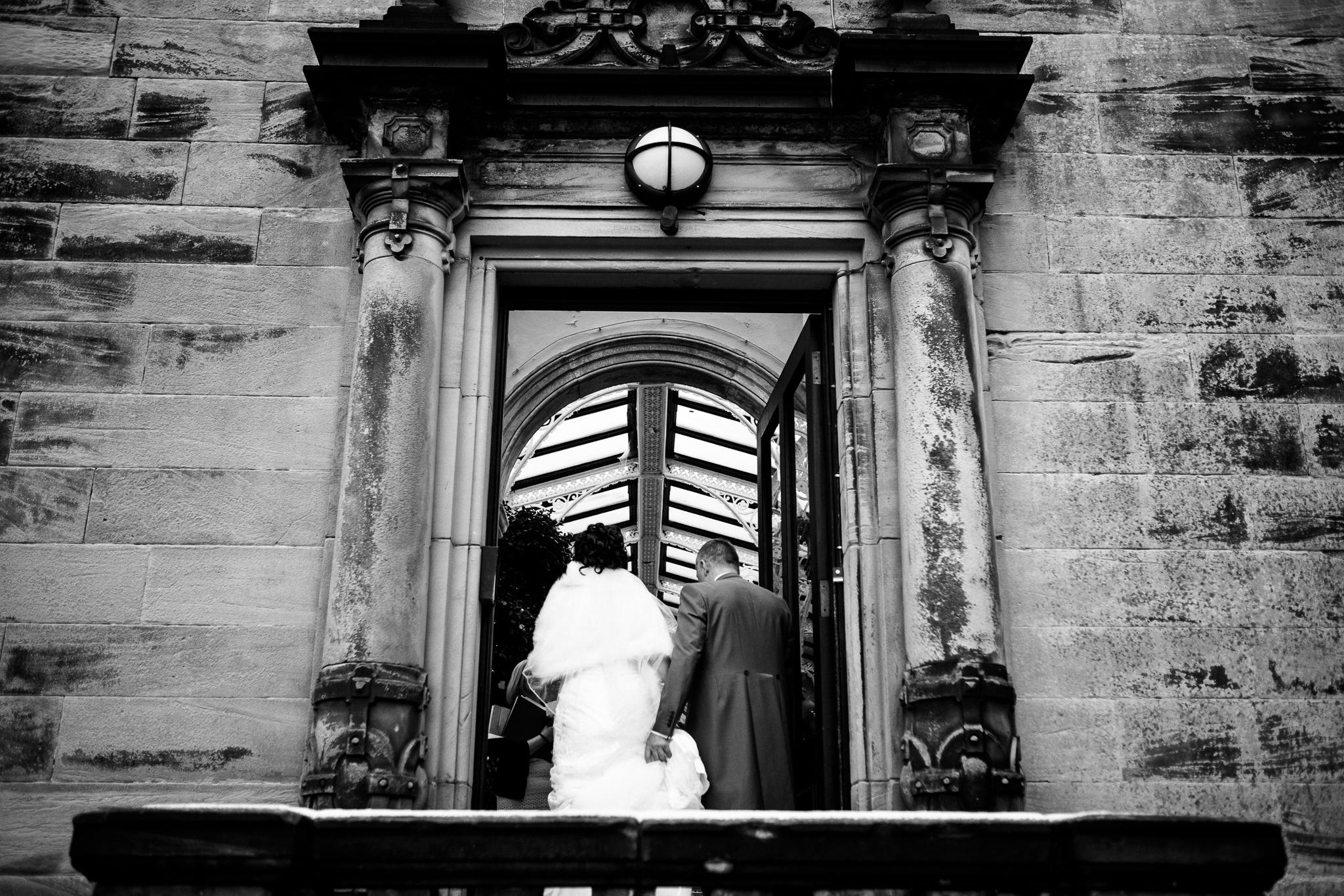 Snow Winter Wedding at Sandon Hall, Staffordshire - Jenny Harper-25.jpg